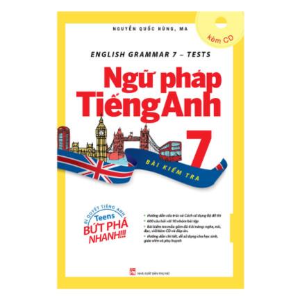 English Grammar - Ngữ Pháp Tiếng Anh 7 (Bài Kiểm Tra) ebook PDF-EPUB-AWZ3-PRC-MOBI