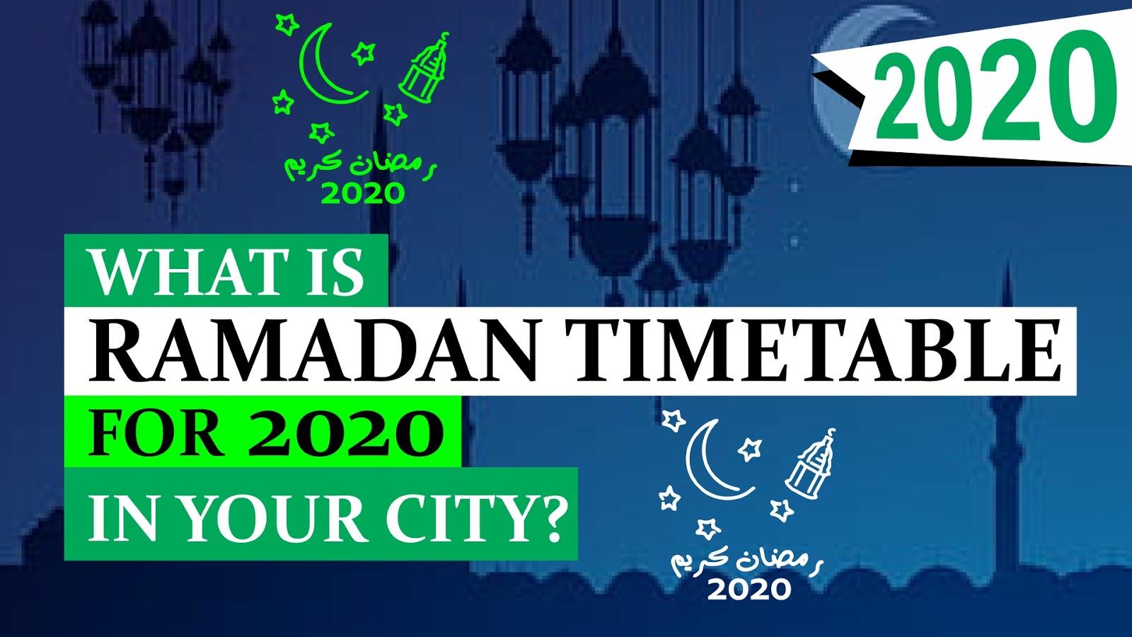 Beginn Ramadan 2021