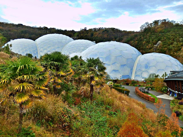 Biomes at the Eden Project, Cornwall