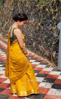How to style a silk saree - Indian Fashion - sari