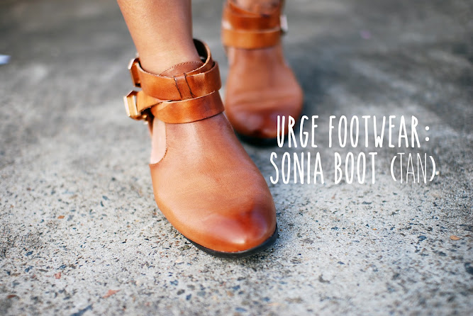 Urge Footwear Sonia Boots Tan Footwear Blog