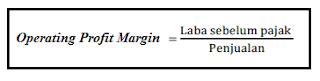 Rumus Operating Profit Margin (OPM)
