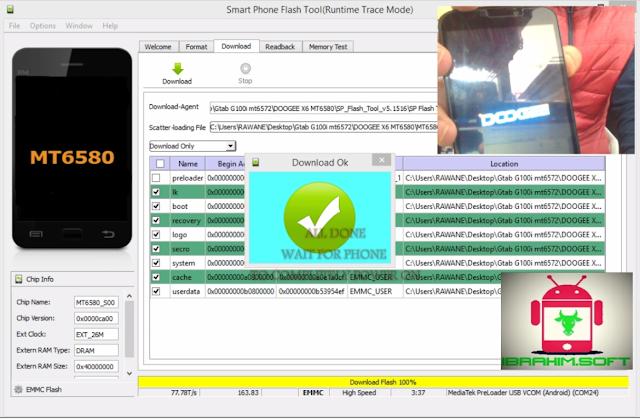 FLASHTOOL DOWNLOAD LINK: MTK FLASHTOOL V5.1516  Drivers Download Link: Mobile Mtk Drivers