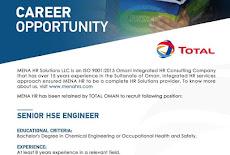 شركة الشرق الأوسط لحلول الموارد البشرية وظيفة شاغرة في سلطنة عمان