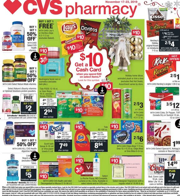 CVS Weekly Ad Preview 1117-1123 Page 1