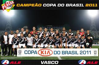Vasco Campeão Copa do Brasil de 2011