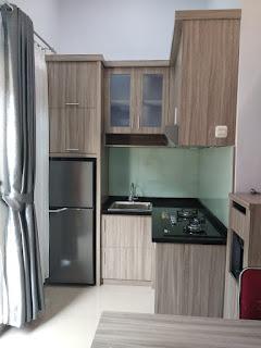 Kitchen set Penyekat Ruangan Minimalis Murah Meriah