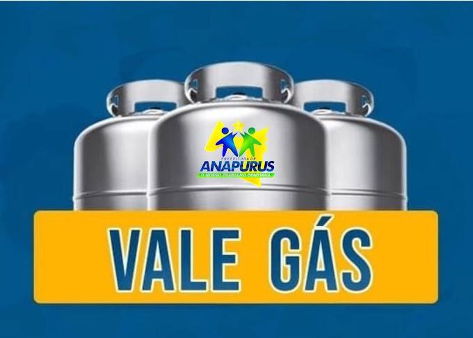 Prefeitura de Anapurus entregará mais de 400 Tics de vale gás do programa do Governo do Estado para famílias escritas no cadÚnico