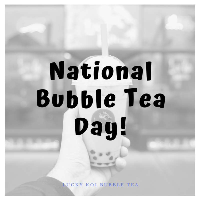 National Bubble Tea Day Wishes Photos