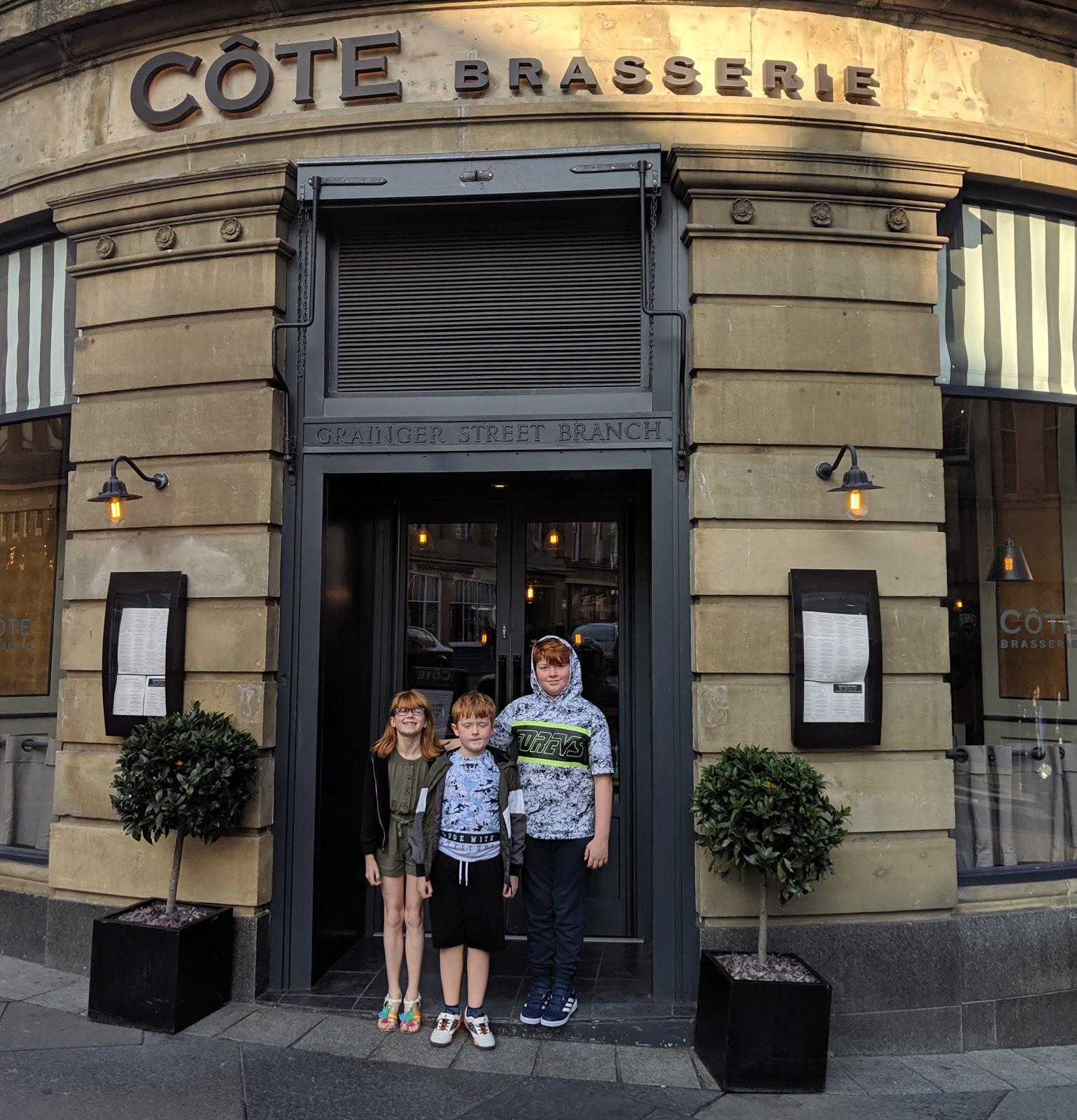 Cote Brasserie Newcastle Childrens Menu