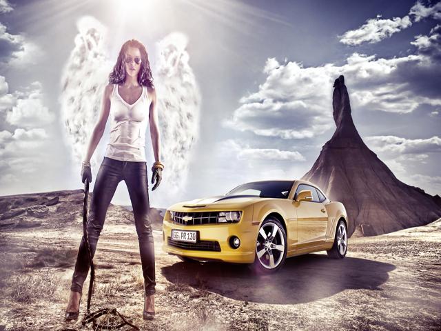 Women and Cars ~ men's dreams