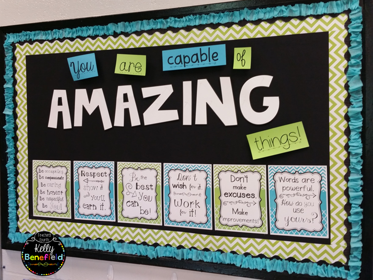 Classroom Motivation Ideas ~ Teaching fourth my classroom reveal
