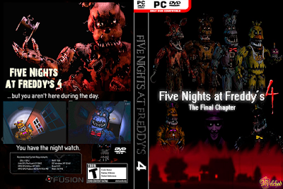 Jogo Five Nights at Freddy's 4: The Final Chapter PC DVD Capa