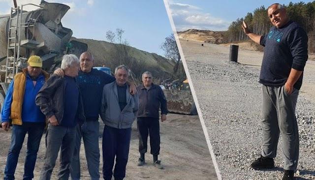 """Борисов: Дори и в неделя се работи усилено по изграждането на магистрала """"Хемус"""""""