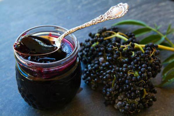La baya del saúco fruta  Antiviral conocida por el hombre