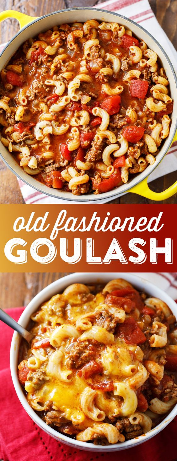 OLD FASHIONED GOULASH #recipes #dinnerrecipes #healthyrecipes #easyhealthydinnerrecipes #food #foodporn #healthy #yummy #instafood #foodie #delicious #dinner #breakfast #dessert #lunch #vegan #cake #eatclean #homemade #diet #healthyfood #cleaneating #foodstagram