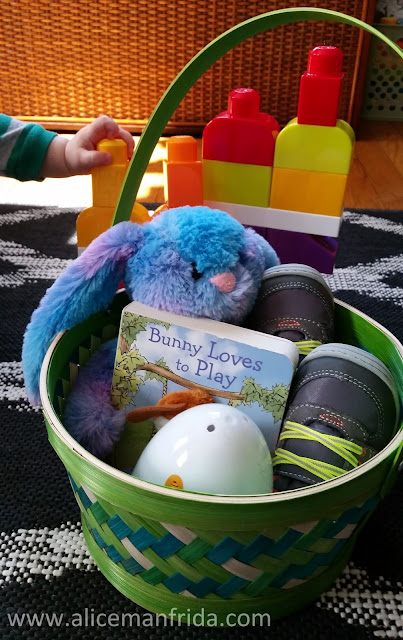 baby's first easter, easter, easter basket, mega blocks