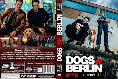 CARATULA DOGS OF BERLIN - PERROS DE BERLIN - TEMPORADA 1 - 2018 [COVER DVD]