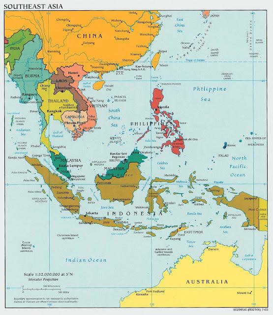 Bentang Alam Kawasan Asia Tenggara