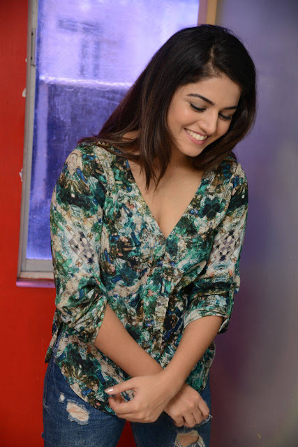 Wamiqa Gabbi Stills At Radio Mirchi in Vizag