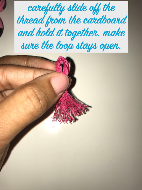 How to Make Tassels Steps