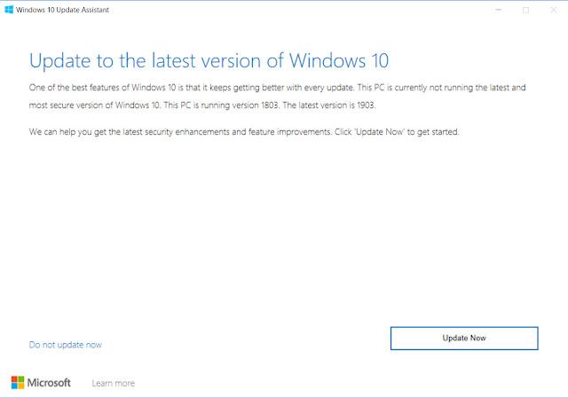 อัปเดท Windows 10 May 2019 1903 3