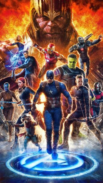 Papel de Parede dos Vingadores Ultimato, Avengers, Vingadores Ultimato Wallpaper Celular, Avengers: Endgame, Hd, 4k.