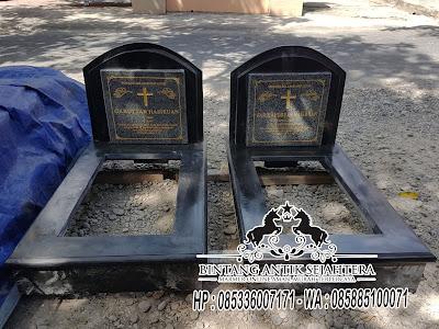 Kijing Makam Marmer, Batu Kijing Marmer, Model Kuburan Minimalis