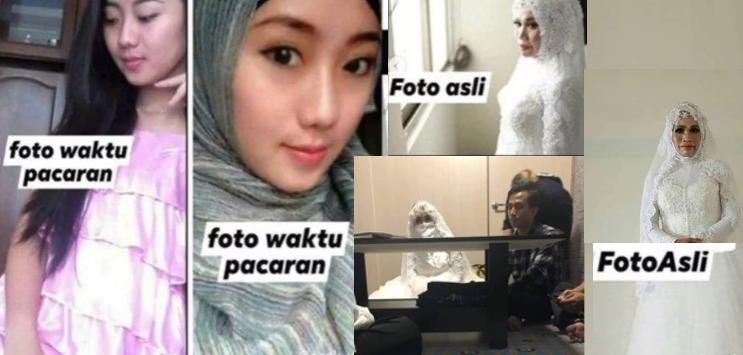 Batal Nikah Karena Tertipu Photo Profil Media Sosial