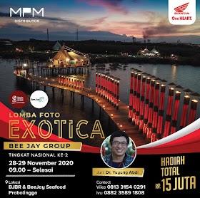 Lomba Foto EXOTICA Bee Jay 2020