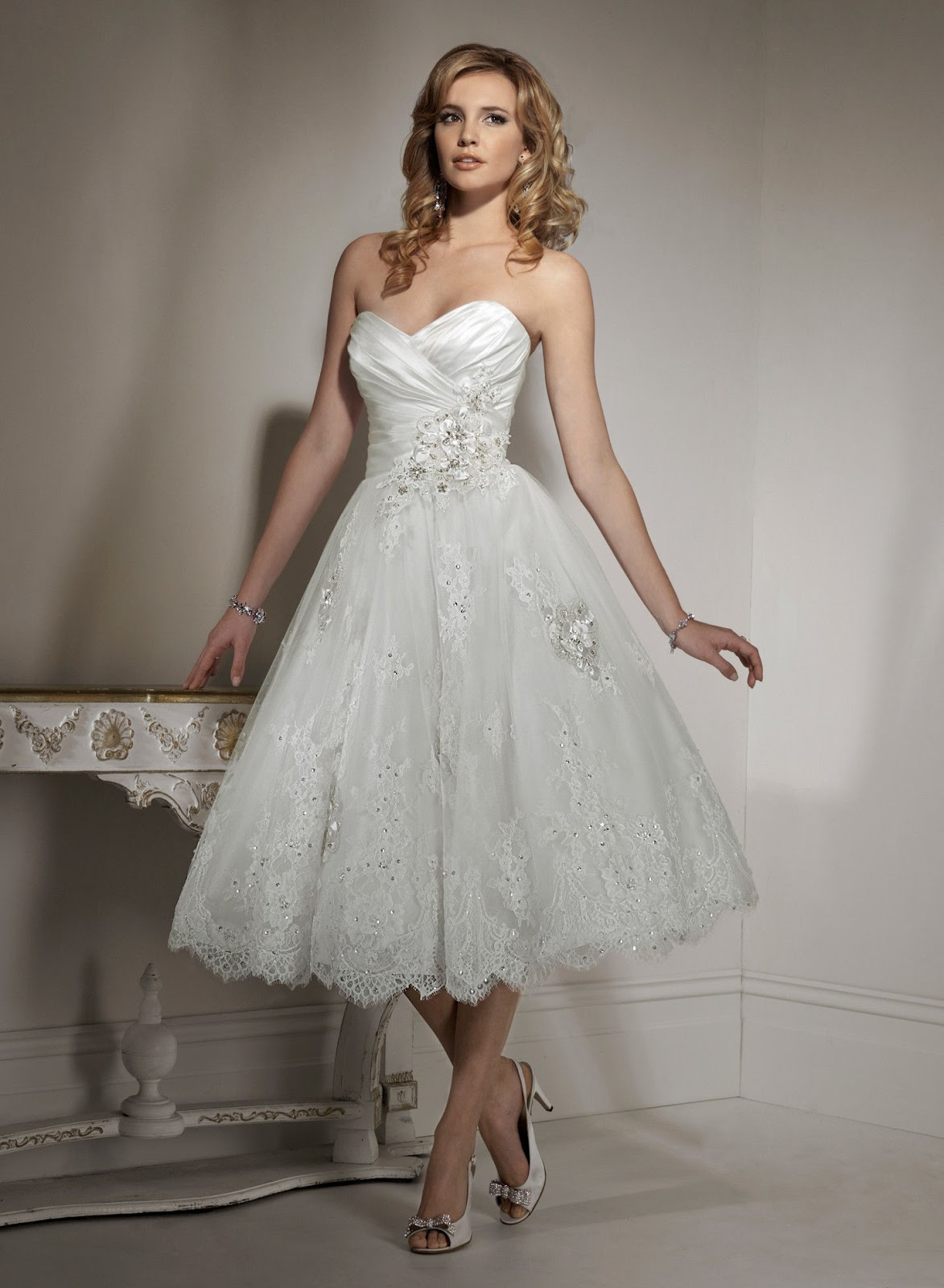 Short Wedding Dress for Petite Women