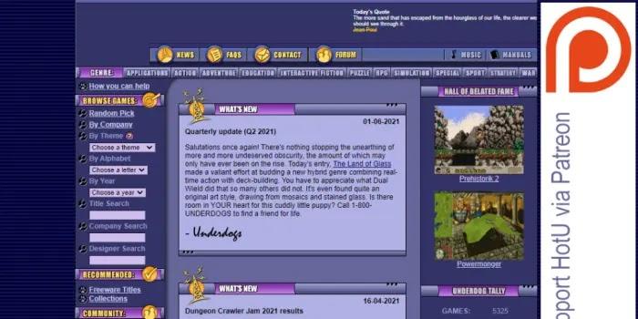 Home of the Underdogs - tempat download game pc di bawah 500mb