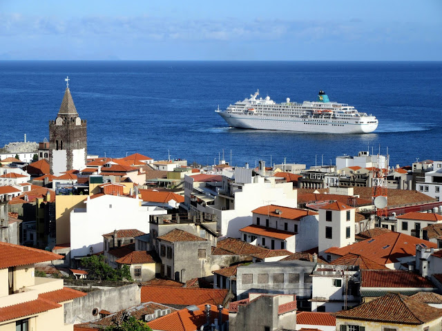 another cruise ship arrived in Madeira