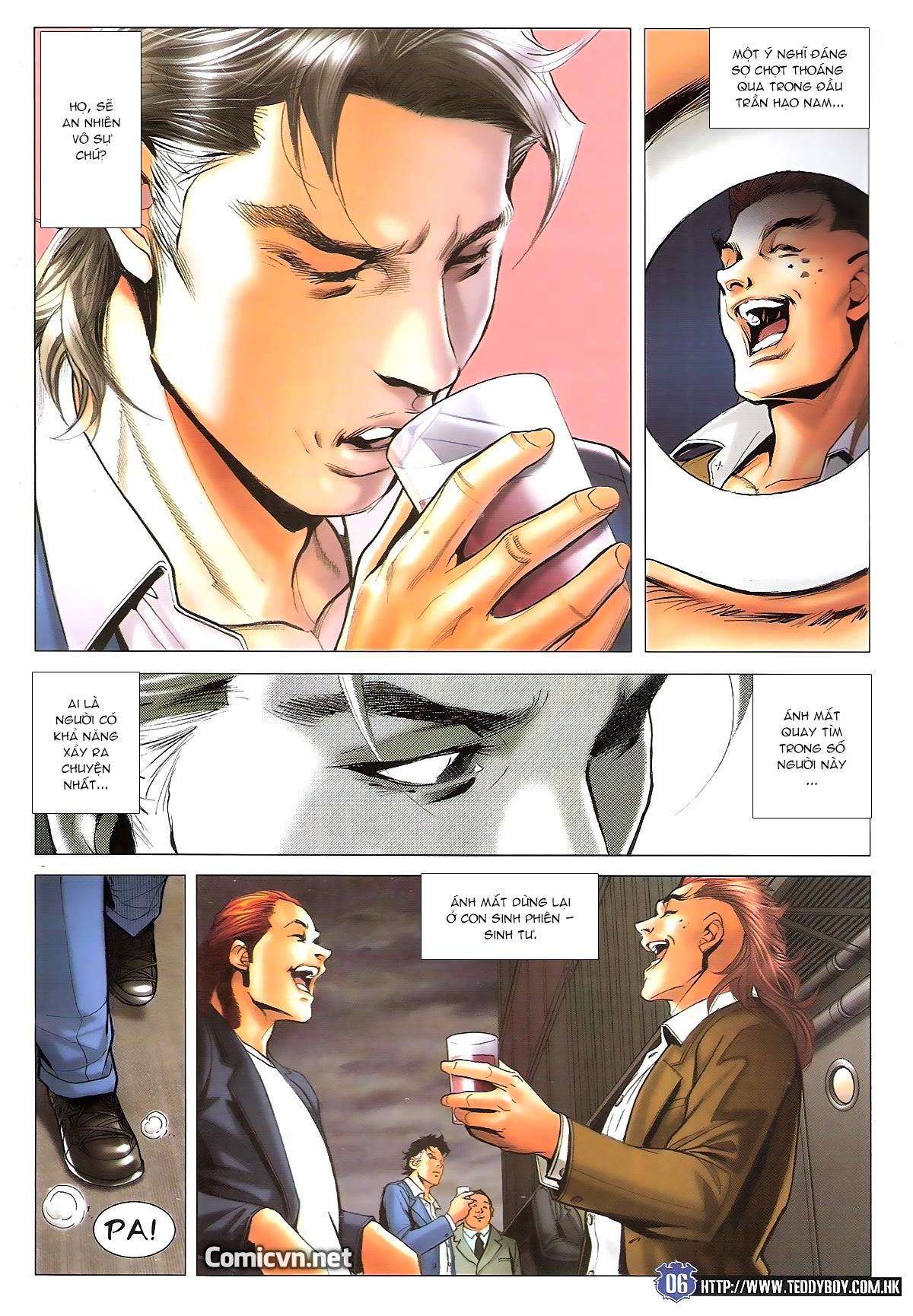 Người Trong Giang Hồ chapter 1645: làm khó đại b chảy trang 4