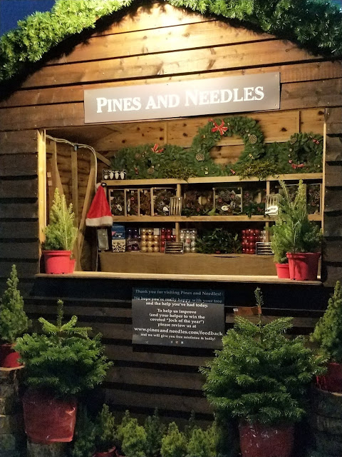 Pines and Needles pop up store