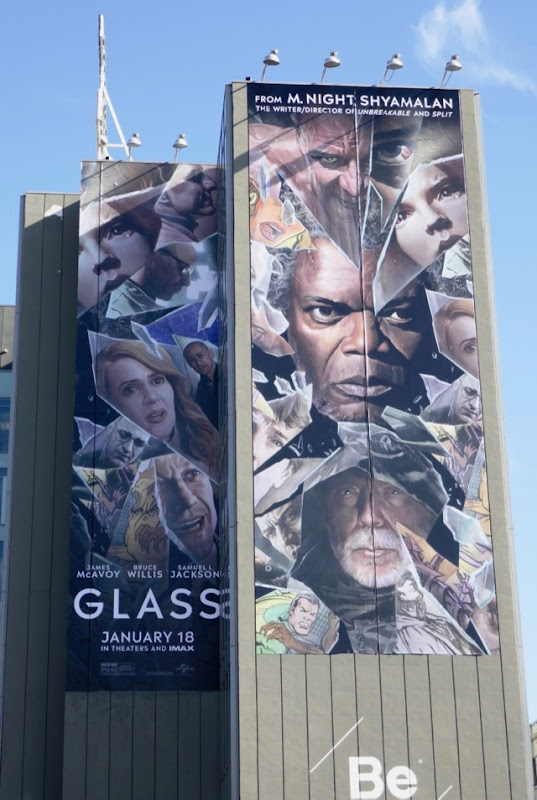 Giant Glass movie billboard