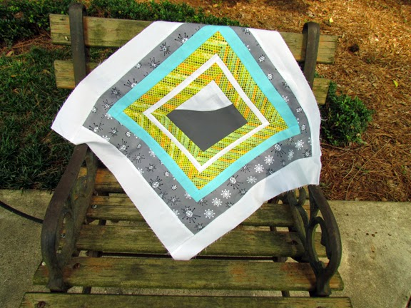 Louisiana Traveling Quilt Block - by Marty Mason