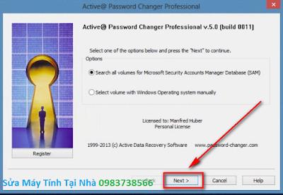 Phá mật khẩu đăng nhập Win 7