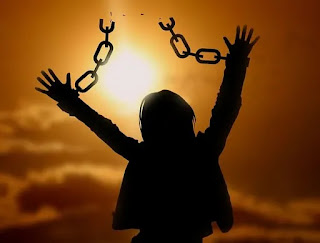 We are made free indeed in Christ Jesus.