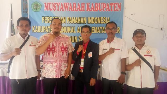 Raup Suara Terbanyak Sukarman Pimpin Perpani Kabupaten PALI