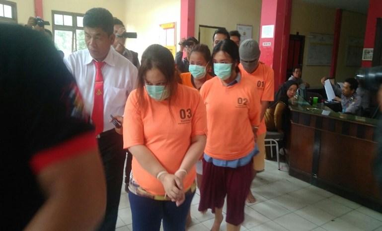Polsekta Batam Kota Ungkap Pelaku Sindikat Pencopetan di Mall