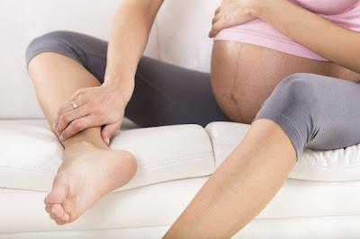 Bị phù nề trong thời gian mang thai