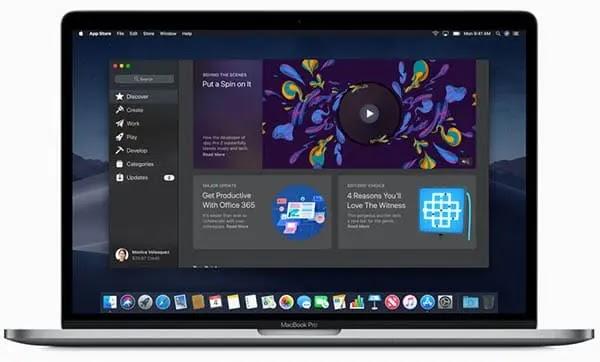 فتح حساب ابل على جهاز الماك MAC
