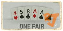 One Pair IDN Poker