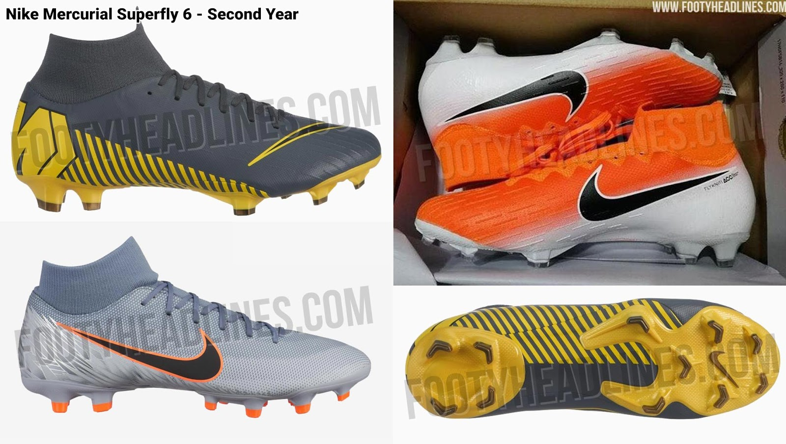 release date 4691f d4890 Updated Nike Mercurial Superfly & Vapor 360 Visual Design ...
