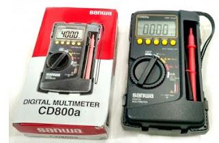 Avometer Digital Sanwa CD800A