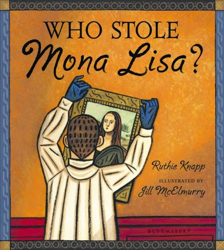 Who Stole Mona Lisa, part of children's book review list about France