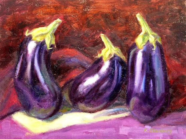 Kim Stenberg' Painting Journal October 2012