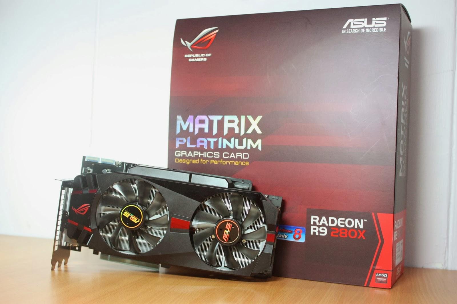 ASUS Radeon R9 280X Matrix Platinum Performance and Overclocking