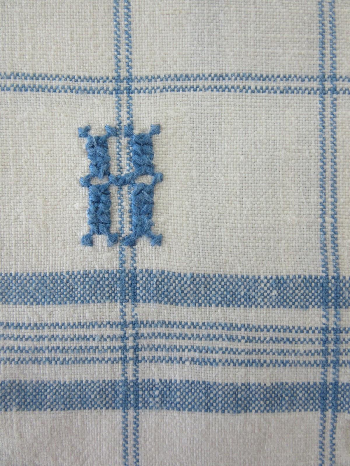 WYA CROSS STITCH PATTERN ONLY HM DAYS OF THE WEEK  STITCHING TOWELS